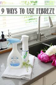 9 ways to use febreze clean and