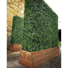 E Joy Artificial Topiary Hedge Plant Privacy Fence Screen Faux Plant Youshouldhaveit