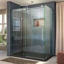 frameless corner shower doors