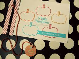 5 Little Pumpkins Sitting On A Gate An Interactive Reader Two Penny Blue Mom