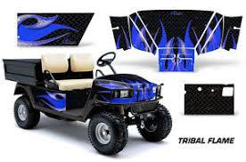 Golf Cart Graphics Kit Decal Sticker Wrap For E Z Go Workhorse 96 03 Tribal U K Ebay