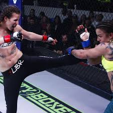 Leslie Smith, with a nod from the cosmos, happy for rematch with Sarah  Kaufman - MMA Fighting