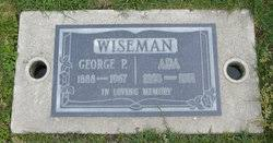 Ada Watson Wiseman (1883-1971) - Find A Grave Memorial