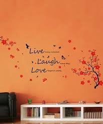Walplus Blossom Live Laugh Love Wall Decal Set Zulily