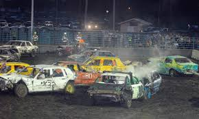 Two-car teams kick off demo derby | Linn County | republic-online.com