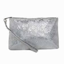 avinisa a002 silver cosmetic bag