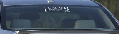 Shopcollegedepot Texas A M Engineering Decal