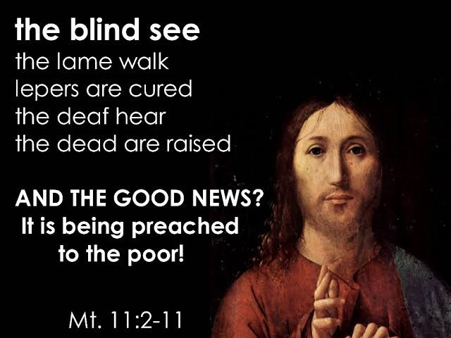 Image result for PICTURES OF MATTHEW 11:2-11""