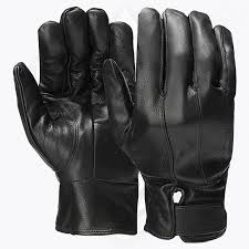 men fashion leather driving gloves