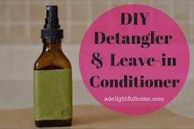 homemade detangler or leave in