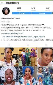 22 nigerian make up artists pulling