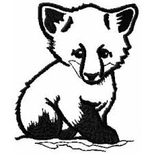 ch408 baby fox embroidery design 3