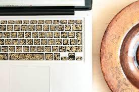 8 Best Gold Macbook Stickers Decals Skins Keyshorts Blog