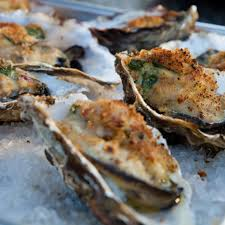 Grilled Oysters Rockefeller with Baby ...