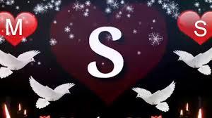 حرف S و M خلفيات بالحروف لكل الاوقات ثابتة ومتحركة اعتذار و اسف