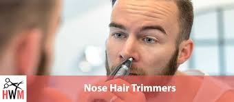 nose hair trimmers for men and women