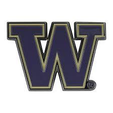 Fanmats University Of Washington Car Emblem Color Metal Car Logo Decal Walmart Com Walmart Com