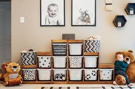Ikea Trofast Storage Bin Makeover Toy Rooms Ikea Trofast Storage Kid Room Decor