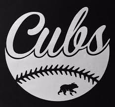Chicago Cubs Baseball Vinyl Decal Bumper By Getblasteddesigns Baseball Vinyl Decal Chicago Cubs Baseball Baseball Decals