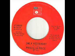 Priscilla Price Only Yesterday - YouTube