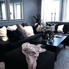 living room decor ideas with black