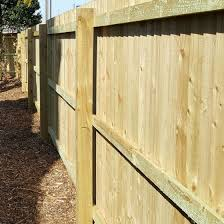 Wooden Fence Posts Garden Landscaping Mick George