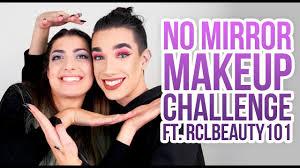 no mirror makeup challenge ft