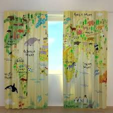 Window Curtains Kids Curtains Living Room Curtains Blackout Etsy