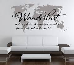 Pin By Amber Boicourt On Travel Travel Wall Decor World Map Wall Wall Stickers World Map