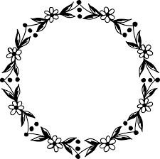10 circle fl frame vector png