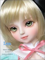 cute love cartoon barbie doll