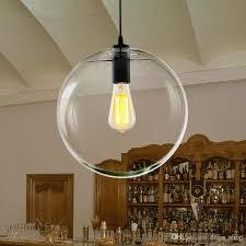 modern nordic re globe light glass