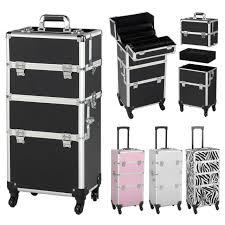 rolling makeup case travel luge