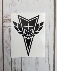 Pontiac Trans Am Firebird Vinyl Decal By Wagskruisinkreations Car Wall Art Trans Am Pontiac Decal