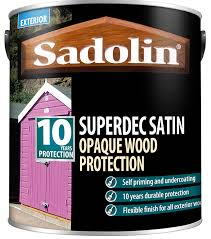 Sadolin Superdec Is A Highly Durable Opaque Finish For Cladding And Exterior Joinery