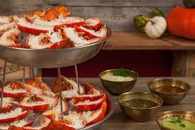 Lobster-Tower-with-Dipping-Sauces ...