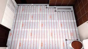 underfloor heating loose wire