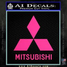Mitsubishi Logo Decal Sticker A1 Decals