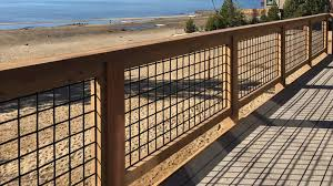 Wild Hog Wire Fence Panel Gallery Boston Cedar