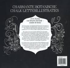 Bol Com Chalk Letteren Botanica Kleurboek Mckeehan Valerie