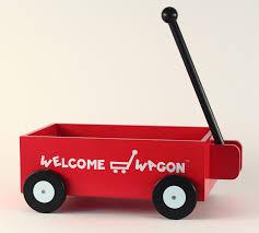 wele wagon personalized baby boy