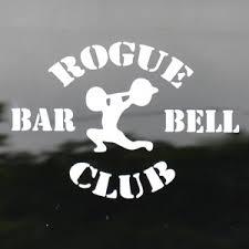 Rogue Vinyl Decals Logo Decals Crossfit Rogue Fitness