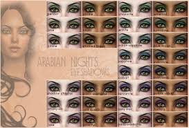 mod the sims make up arabian nights