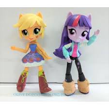 My Little Pony - Bộ 2 búp bê Pony 13cm APPLE JACK & TWILIGHT ...