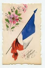 Patriotique. Guerre 1914 / 1918 . Drapeau Français Aquarellé | eBay