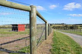 Our 4 5 Inch By 7 Foot Fence Posts Are The Size Of Choice For Many Farmers And Ranches Horse Fencing Pasture Fencing Horses