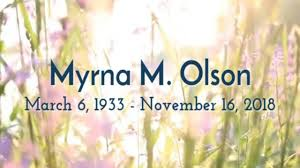 Myrna Olson Video Tribute on Vimeo