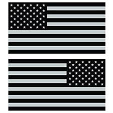 Amazon Com Reverse And Forward Facing Subdued American Flag Stickers Fa Graphix Vinyl Decal Usa Us America Flags Automotive