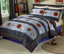 queen size sports bedding set sports