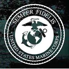 Usmc Marines Logo Car Decals Stickers Decal Junky